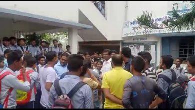 teacher's obscene behaviour with girl students in raiganj