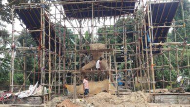Photo of রায়গঞ্জের সবথেকে বড় কালী প্রতিমা সুবর্ণ সংঘের