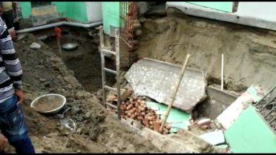 Photo of মন্দিরের দেওয়াল চাপা পড়ে মৃত দুই, আহত এক ইসলামপুরে