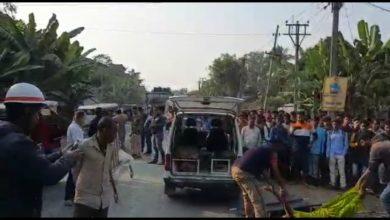 Photo of ডাম্পারের ধাক্কায় কালিয়াগঞ্জে মৃত মহিলা