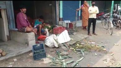 Photo of সবজি বাজার বসা নিয়ে গোলমাল, উত্তেজনা রায়গঞ্জের বারদুয়ারিতে