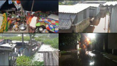 Photo of স্লুইস গেট লিক করে কুলিকের জল ঢুকছে রায়গঞ্জ পুরসভার ৮ নম্বর ওয়ার্ডে