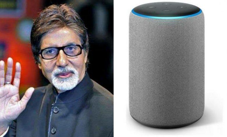 amitabh bachchan's voice in amazon's alexa device available