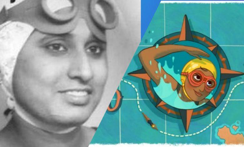 google salutes famous bengali swimmer arati saha