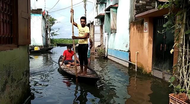 heavy rain in maldah and raiganj