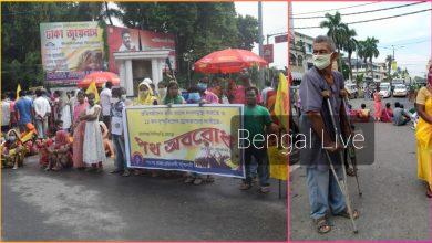 Photo of রায়গঞ্জে প্রতিবন্ধী নাগরিকদের জাতীয় সড়ক অবরোধ