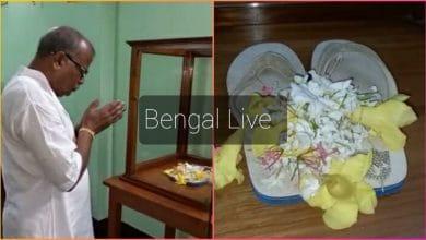 Photo of প্রণব মুখার্জির একজোড়া হাওয়াই চটি স্মৃতি হয়ে রইলো রায়গঞ্জে
