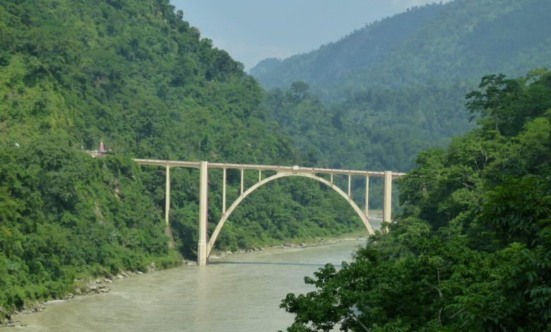 coronation bridge over teesta in sevoke