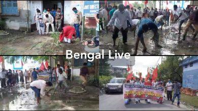 left movement in raiganj