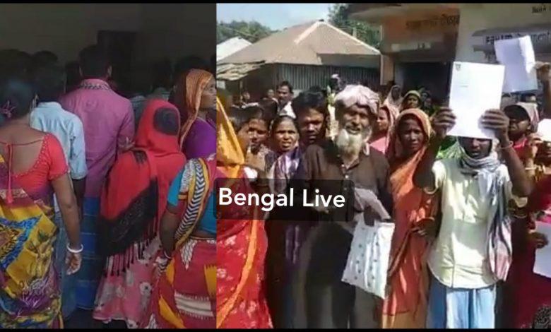 post master allegedly cheats hundreds customers at itahar in uttar dinajpur
