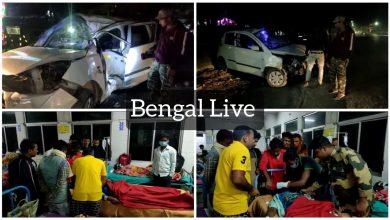 delhi resident killed in road accident at islampur in uttar dinajpur