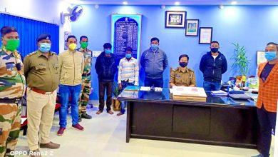 drug peddlers arrested by raiganj police