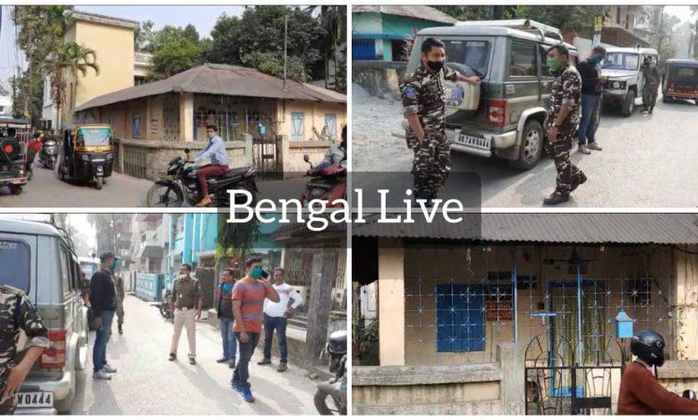 police dog squad in ashok bhattacharya's house