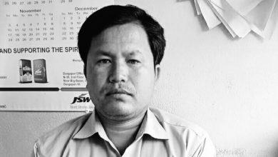tmc leader's death in accident