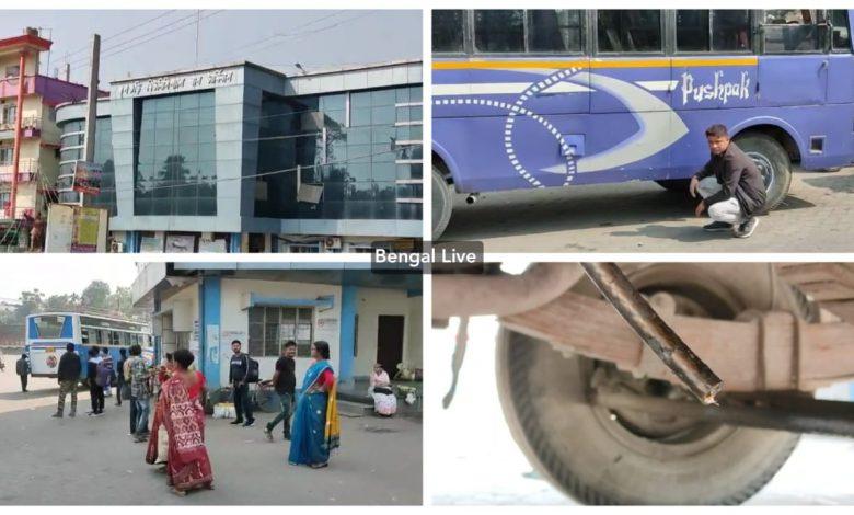 diesel stolen from buses in jalpaiguri