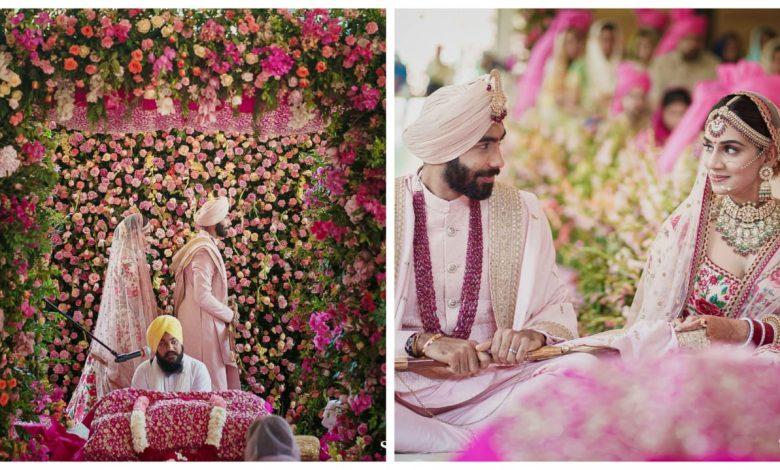 Jasprit Bumrah Marries Sanjana Ganesan