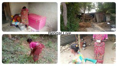 anne gudiya a poor resident of chakbhrigu in balurghat