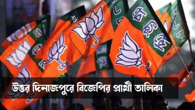 bjp candidate list uttar dinajpur