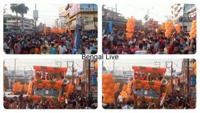 Mithun Chakraborty in Raiganj