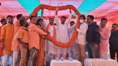Rajiv Banerjee joined the election rally in Raiganj