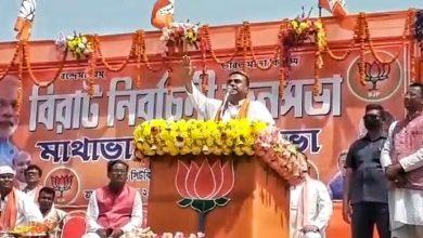 BJP leader Shuvendu Adhikari in coochbehar