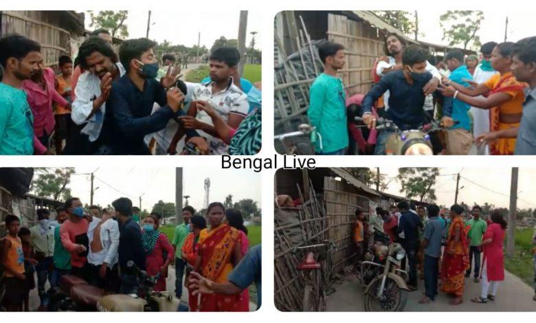 Trinamool student leader severely beaten in Kaliaganj