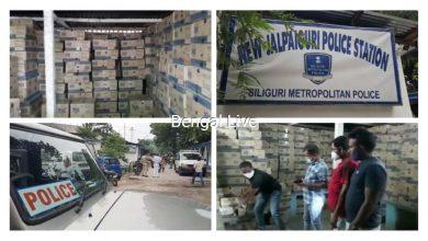 713 cartoon liquor recovered before trafficking
