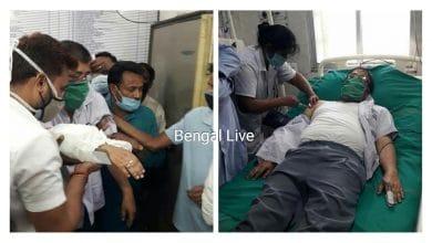 Attack on tmc leader Udayan guha
