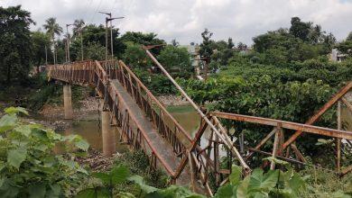 balurghat foot bridge